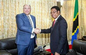 السفير المصري في دار السلام يلتقي رئيس الوزراء التنزاني| صور