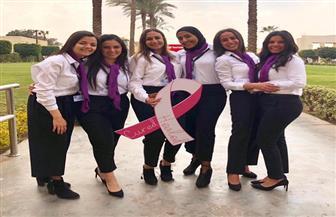 """""""بطلة حكايتك"""".. حملة توعية لدعم مرضى سرطان الثدي نفسيا في مشروع تخرج بإحدى الجامعات الخاصة"""