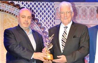 تكريم بوسي ومحمود قابيل وعمرو سعد فى افتتاح مهرجان مكناس الدولي للفيلم العربي | صور