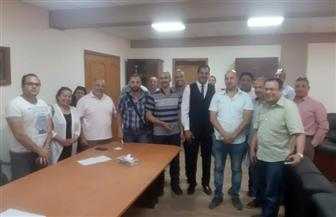 رئيس جهاز الشروق يلتقى حاجزى مشروع دار مصر لحل شكاواهم.. وحصر الوحدات المؤجرة للعمالة المؤقتة | صور