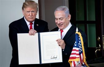 """هدية من لا يملك لمن لا يستحق.. إسرائيل تطلق اسم """"هضبة ترامب"""" على إحدى قرى الجولان"""