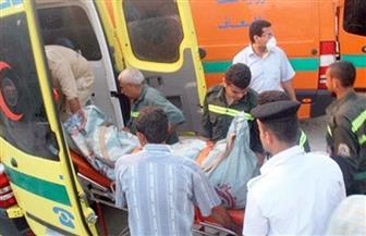 إصابة 5 أشخاص من بينهم طفل فى حادث تصادم على الطريق الزراعي الغربي بسوهاج