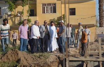 الانتهاء من 95% من الأعمال الإنشائية لمحطة مياه أرمنت بالأقصر | صور