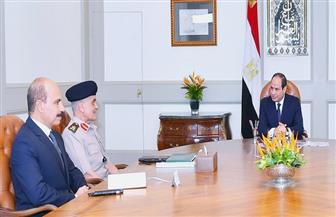 الرئيس السيسي يستعرض الموقف التنفيذي لصندوق تكريم شهداء وضحايا العمليات الحربية والإرهابية