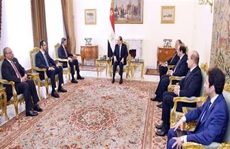 تفاصيل لقاء الرئيس السيسي بوزير الخارجية الإماراتي