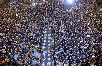 مظاهرة ضخمة في شوارع هونج كونج رفضا لمشروع قانون تسليم المطلوبين للصين