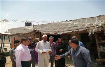 رئيس مركز بئر العبد يتابع سير العمل بالوحدة المحلية بقرية التلول