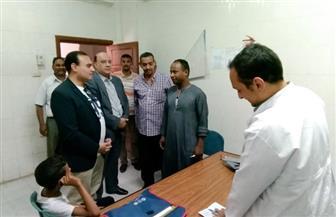 نائب محافظ الأقصر يتفقد مشروعات مركز ومدينة الزينية  فيديو وصور
