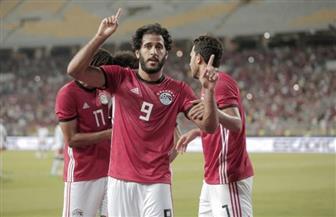 مصر تحرز الهدف الأول في مرمى غينيا