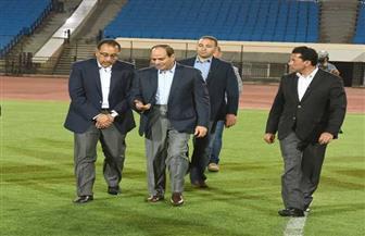 ننشر تفاصيل زيارة الرئيس السيسي لاستاد القاهرة استعدادا لبطولة الأمم الإفريقية| صور