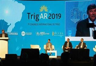 السفير المصري في الأرجنتين يشارك في المؤتمر الأول للقمح  صور