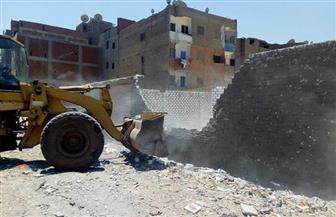 محافظة سوهاج: إزالات فورية لـ 10 حالات تعد على أراض زراعية خلال 24 ساعة | صور