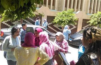 ارتياح بين طلاب الثانوية العامة بعد انتهاء خامس يوم امتحانات | صور