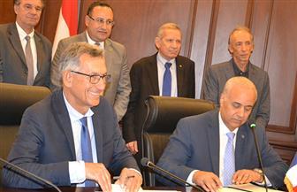 اتفاق تعاون بين جامعتي الإسكندرية وإكس مارسيليا الفرنسية | صور