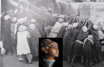 كانوا ينقلون الأتربة في حفائر الكرنك ومقبرة توت عنخ آمون.. كيف صدر قانون منع عمالة الأطفال في الآثار | صور