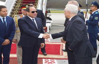 بدء مباحثات الرئيس السيسي ورئيس وزراء بيلاروسيا بمقر إقامته بمينسك