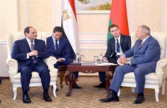 رئيس وزراء بيلاروسيا يشيد بالدور المحوري لمصر في ترسيخ الاستقرار فى الشرق الأوسط وإفريقيا