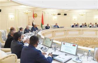 الرئيس السيسي يؤكد حرص مصر على تطوير التعاون الاقتصادي مع مجتمع رجال الأعمال والشركات البيلاروسية| صور