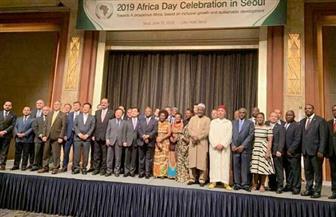 السفارة المصرية في سول تشارك في فعاليات الاحتفال بيوم إفريقيا | صور