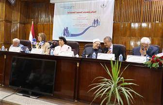 بدء مؤتمر القومي للبحوث الاجتماعية والجنائية لمناقشة معدلات الزيادة السكانية | صور