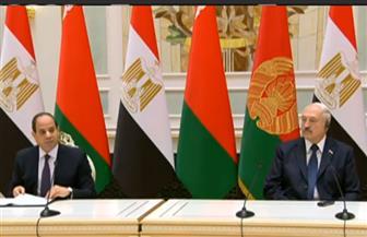 الرئيس السيسي ونظيره البيلاروسي يوقعان عددا من اتفاقيات التعاون بين البلدين