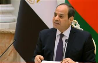 الرئيس السيسي: العلاقات القوية بين مصر وبيلاروسيا تعكس مستوى التفاهم والتعاون بينهما
