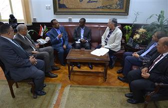 """""""الكردي"""" يبحث اتفاقية التعاون بين جامعة الإسكندرية وجامعة دار السلام بتنزانيا"""