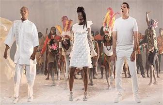 """الصور الأولى لأغنية """"متجمعين"""" بمناسبة أمم إفريقيا تجمع حكيم وثنائيا إفريقيا عالميا"""