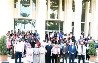 """مرصد الأزهر يستقبل وفد برنامج """"منحة ناصر للقيادة الإفريقية الشابة"""""""