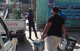 حملات لتطوير شوارع وميادين حي غرب أسيوط ورفع الإشغالات |صور