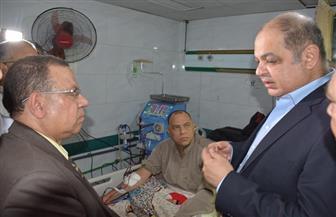 محافظ الغربية يكلف الصحة بإجراء صيانة يومية لماكينات الغسيل الكلوي بالمستشفيات