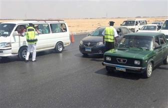 فتح الطريق الدائري بعد حادث انقلاب سيارة نقل محملة بالصابون السائل