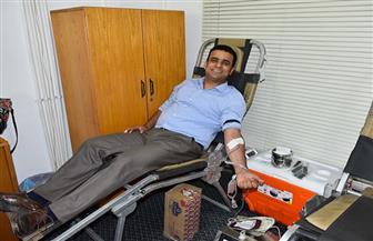 انطلاق مبادرة وزارة البترول للتبرع بالدم بالشركات والحقول| صور