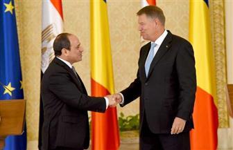 الرئيس السيسي يؤكد عمق الصداقة بين مصر ورومانيا