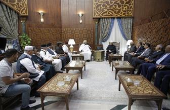 الإمام الأكبر: الأزهر حريص على تقديم كل أوجه الدعم والمساندة العلمية والفكرية للشعب الليبي