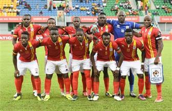 المنتخب الأوغندي يؤدي مرانه اليوم بملعب المقاولون العرب