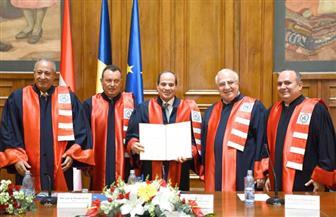 """رئيس """"مصر الثورة"""": منح الرئيس السيسي الدكتوراه الفخرية يرجع لإنجازاته الجبارة"""