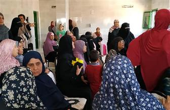 """حملة """"بنطمن عليكى"""" بحزب الحرية المصرى تجوب قرية الدبوسي بالدقهلية لعلاج سرطان الثدي   صور"""