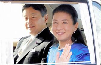 إمبراطور وإمبراطورة اليابان يحضران مراسم زرع الأشجار