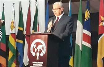 سفير مصر في زامبيا ينقل رسالة الرئيس السيسي بمناسبة يوم إفريقيا
