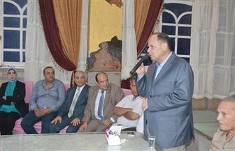 """""""مستقبل وطن"""" بالفيوم ينظم إفطارا عماليا بحضور المحافظ وقيادات الحزب"""