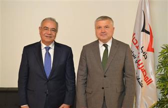 """""""المصريين الأحرار"""" يستقبل سفير أرمينيا لبحث سبل التعاون المشترك"""