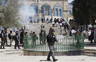 متطرفون يهود يقتحمون باحة المسجد الأقصى بالقدس ويشتبكون مع المعتكفين