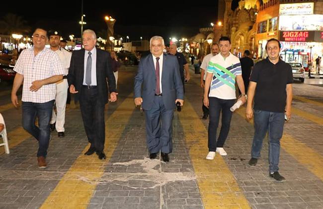 فودة يوجه بتقديم خدمة مشاهدة جيدة للمواطنين في ميادين شرم الشيخ خلال البطولة الإفريقية -