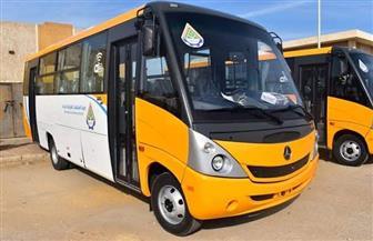 تشغيل 5 أتوبيسات ضمن منظومة النقل الداخلي بمدينة السادات