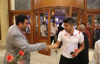 منتخب تونس يبدأ تدريباته مساء اليوم.. وفقرات فنية على أنغام السمسمية في استقبالهم بالسخنة| صور