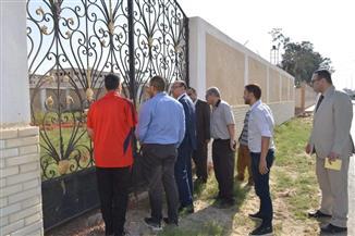 نائب رئيس جامعة المنصورة يتفقد استعدادات معسكر جمصة   صور