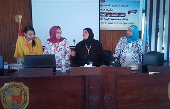 جامعة الطفل بسوهاج تواصل محاضراتها العلمية وتختار أعضاء اتحاد الطلاب | صور