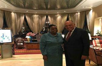 وزير الخارجية يلتقى نظيرته الكينية بإثيوبيا  صور