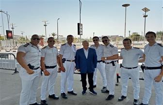 أبوريدة يشيد بجهود رجال الشرطة في تأمين وصول المنتخبات الإفريقية